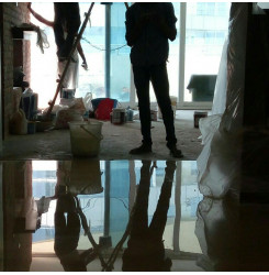 Marble Floor Polishing In Azad Market