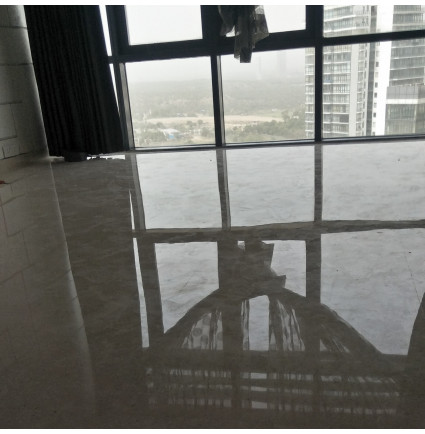 Marble Floor Polishing In Apoorva Apartment, Delhi