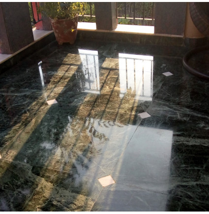 Marble Floor Polishing Work
