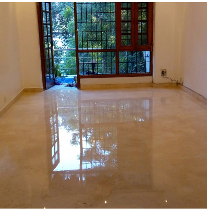 Marble Floor Polishing In Mahalaxmi Apartment, Gurgaon