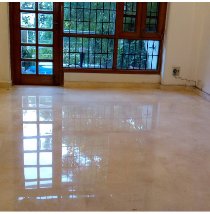 Marble Floor Polishing In Pragati Maidan, Delhi