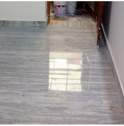Marble Floor Polishing In Janta Market